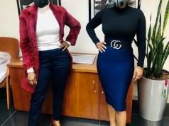 Mashechaba Ndlovu and Nomcebo