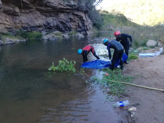 Members of Durban search and rescue and Metro Police search and rescue recovered the bodies