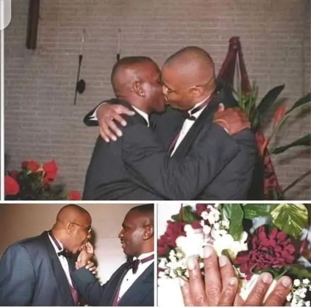 Paul Mwaura tie the knot