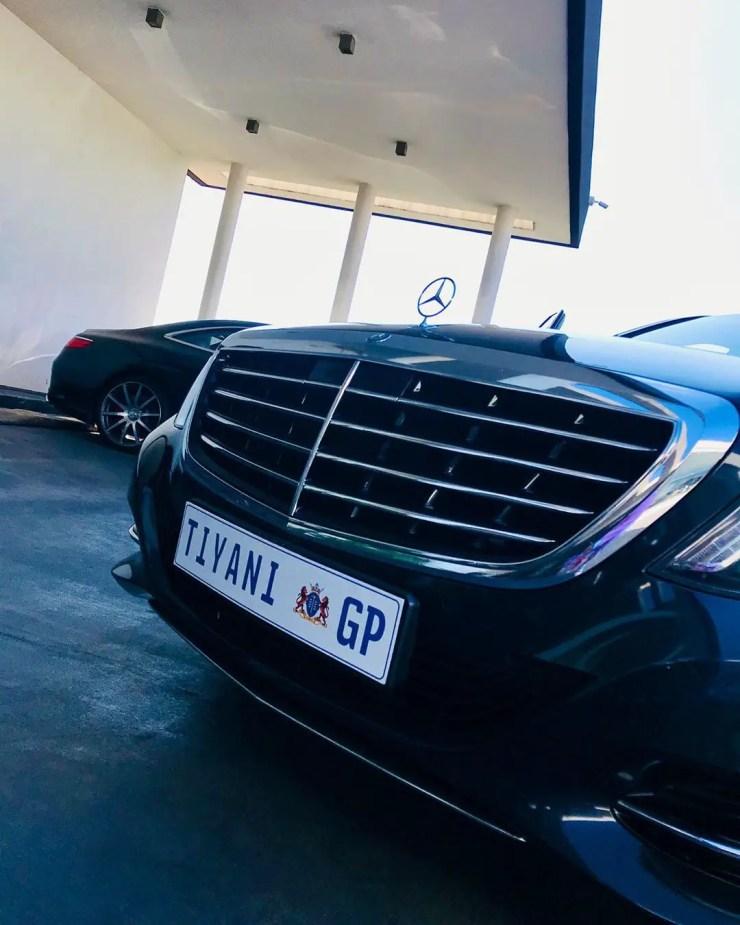 Tino Chinyani new car