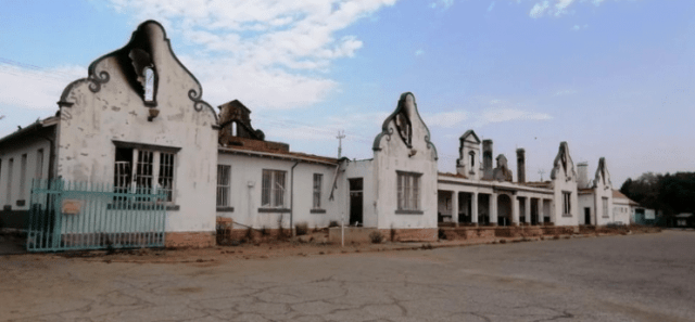 100-year-old Potch train station destroyed in fire