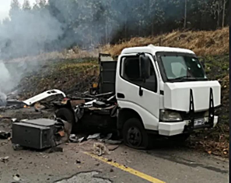 Disaster as guard dies in explosion during cash-in-transit heist