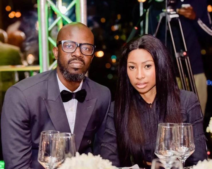 Enhle Mbali and Black Coffee