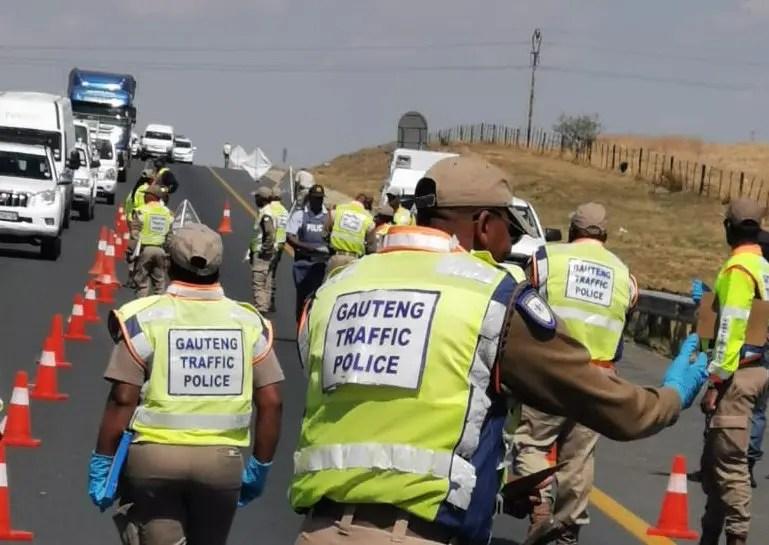 Gauteng Traffic police
