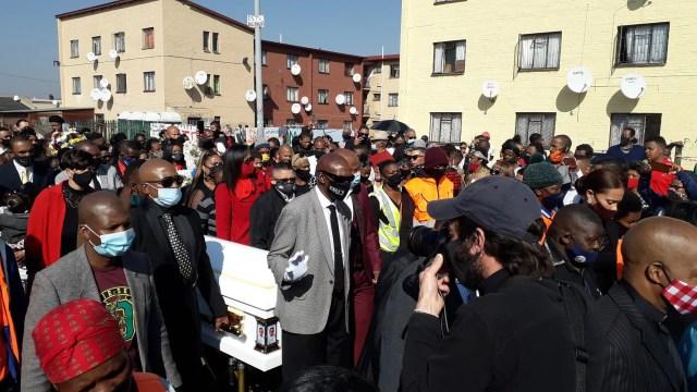 Hundreds of Eldorado Park residents bid farewell to Nathaniel Julies