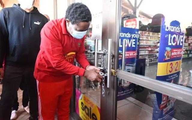 Julius Malema locks Clicks