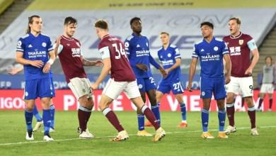 Leicester 4 -2 Burnley