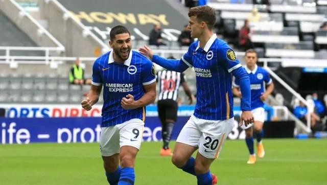 Newcastle 0 - 3 Brighton
