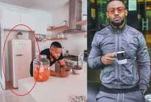 Photo of Prince Kaybee fired for showing off his SMEG Fridge