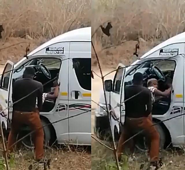 SA taxi driver having S.e.x by the roadside