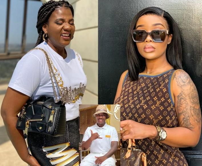 Shauwn Mpisane and Sithelo Shozi