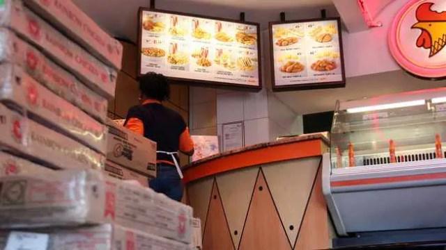 Staff at Chicken Licken