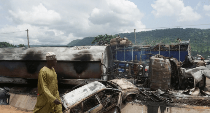 Tanker Truck Accident Kills More than Two Dozen People