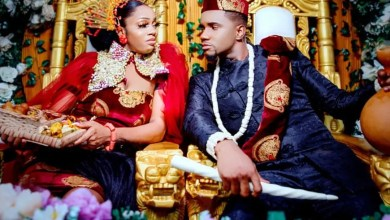 Swanky J.K.A ties the knot in traditional wedding ceremony