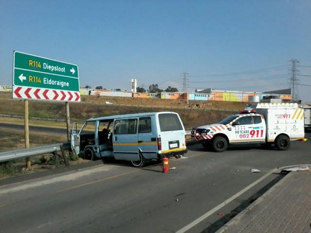 Diepsloot taxi crash