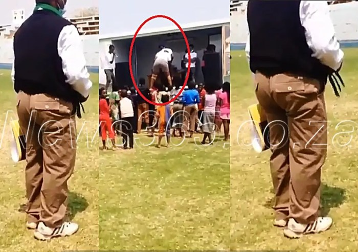 H0rny man caught squeezing his @ss while enjoying a twerking woman on a show