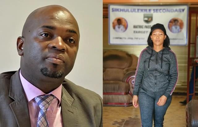 Nkele Molapo and Solly Msimanga