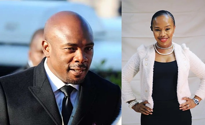 Siyabonga Thwala and Sindi Dlathu