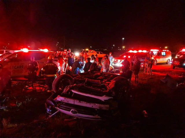 Two seriously injured in rollover