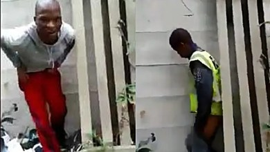 2 SA men caught having s.e.x behind wall