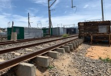 Cape Town central rail line
