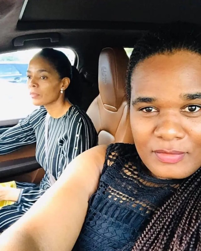 Connie Ferguson and little sister
