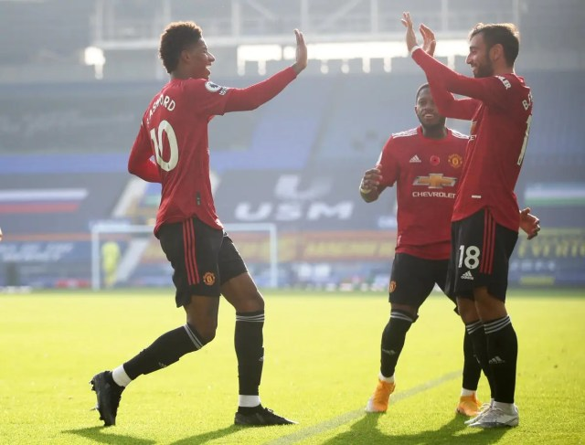 Everton 1 - 3 Manchester United