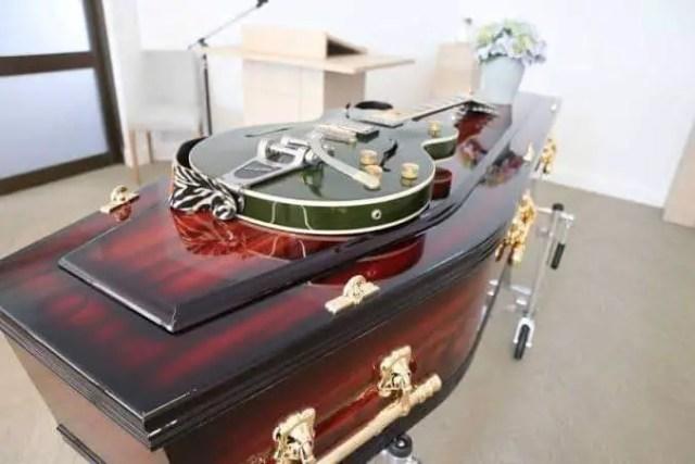 Ginimbi coffin