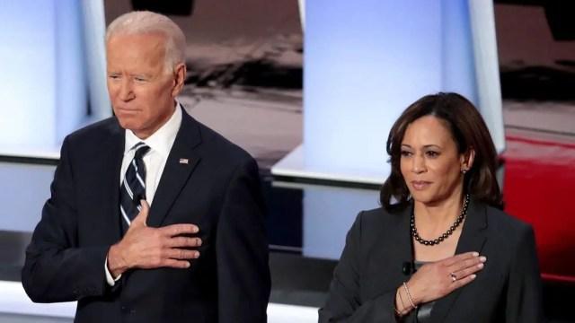 Joe Biden and Kamala Harris