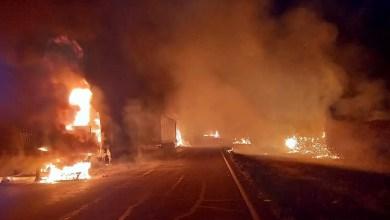 More trucks petrol bombed in SA