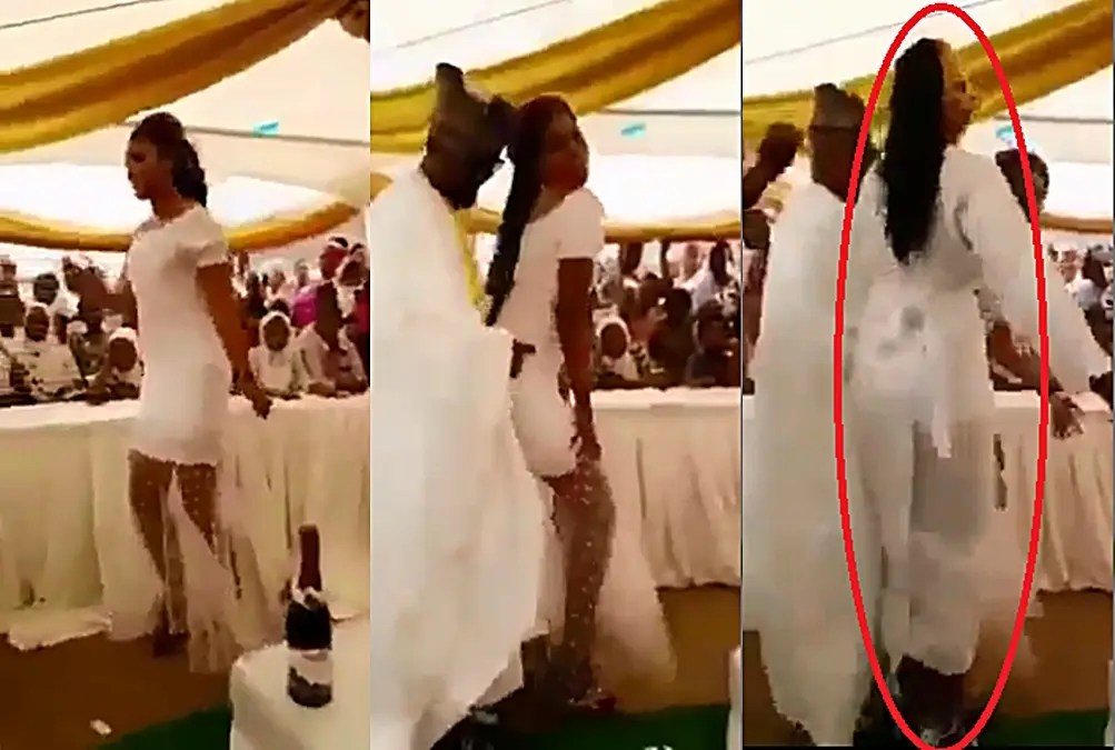 Bride acts quick before slay queen stole her husband