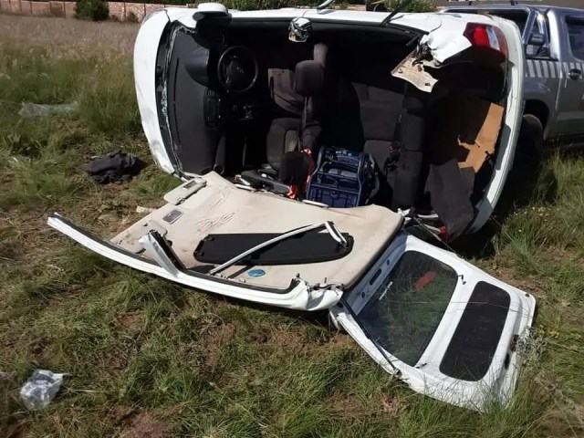 Driver seriously injured in rollover