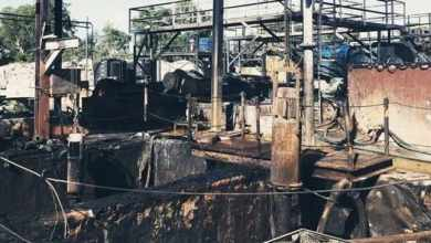 Germiston chemical factory