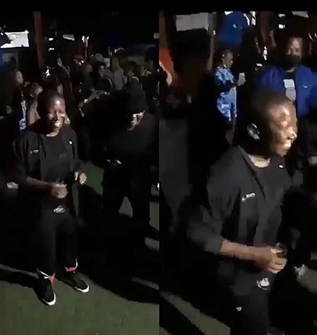 Julius Malema partying