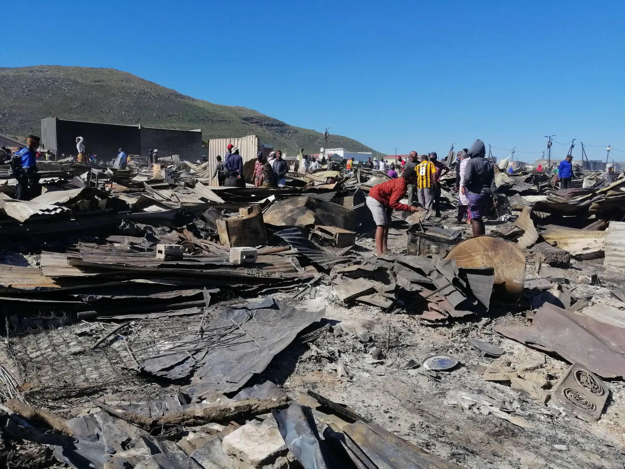 Masiphumele shack fire