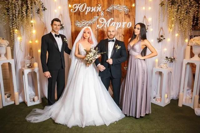 Yuri Tolochko wedding