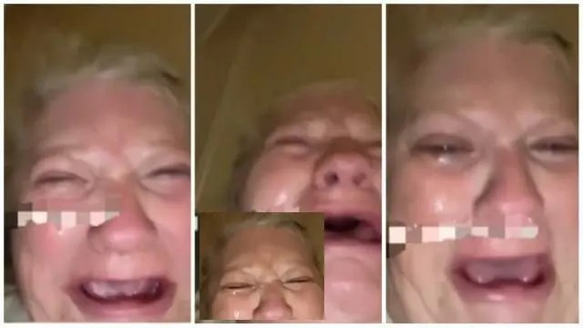Angry elderly woman cries after 'Ben 10 boyfriend' dupes her
