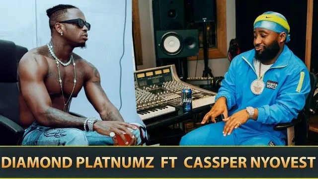 Cassper Nyovest and Diamond Platnumz