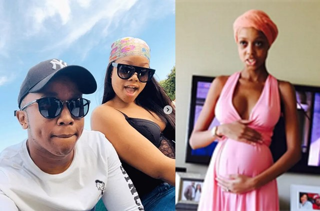 Junior De Rocka under fire for allegedly cheating on pregnant Ntando Duma with his girlfriend