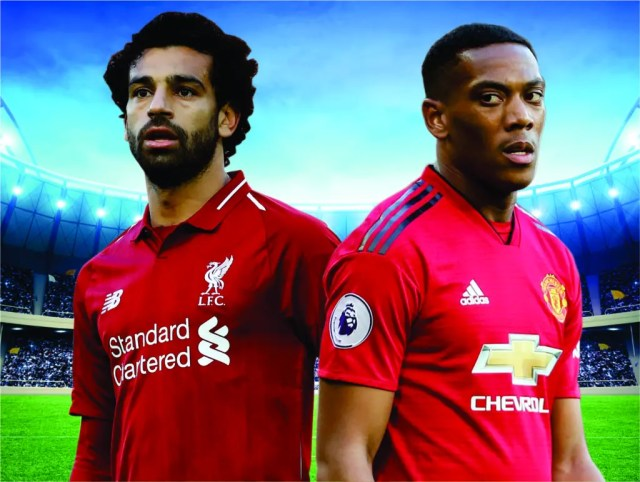 Man United and face Liverpool