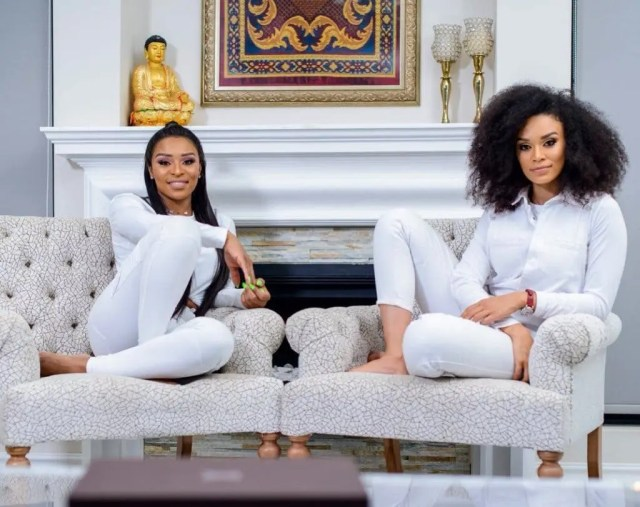 Pearl Thusi and DJ Zinhle