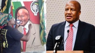 Rasta paints Jackson Mthembu