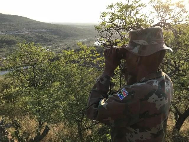 SANDF patroling SA borders