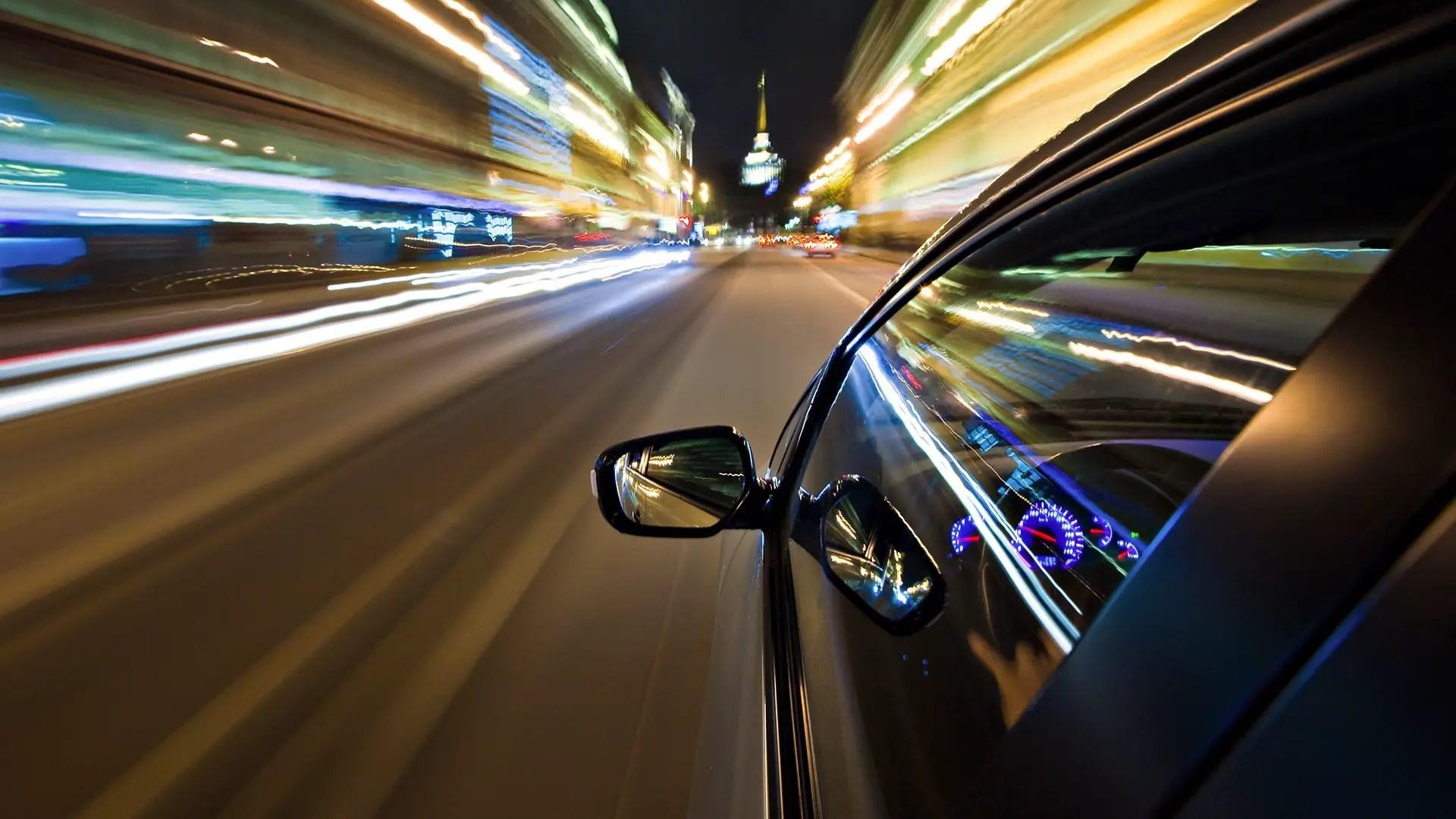 Speedster speeding