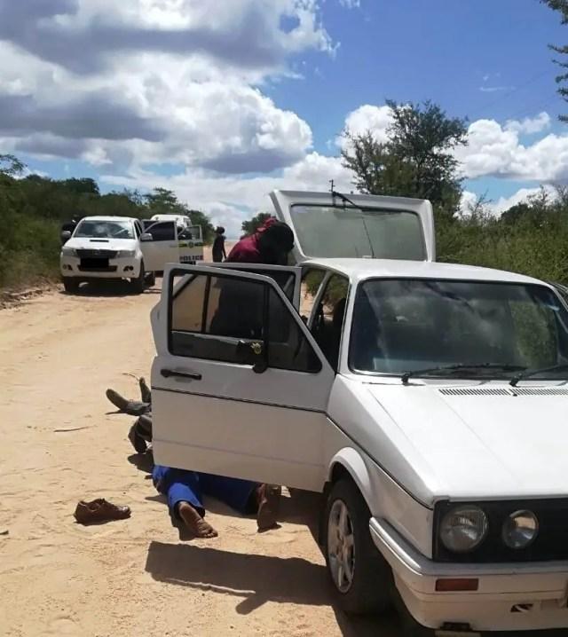 Suspected rhino poachers nabbed