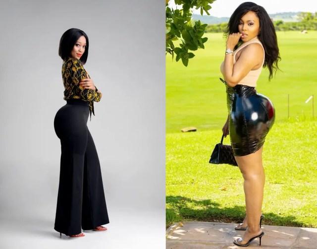 Tebogo Thobejane and Buhle Samuels