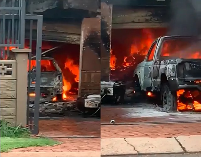 Tragedy as Centurion resident loses 4 cars during house fire