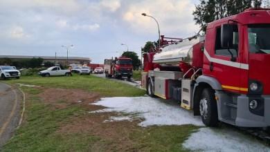 underground fuel pipe burst