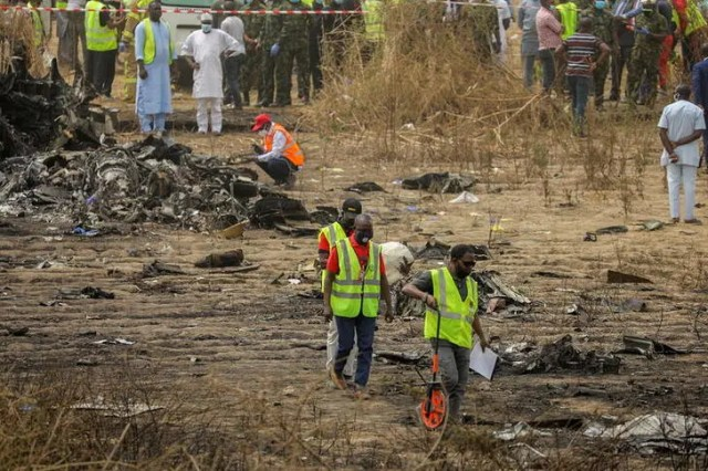 7 killed in Nigerian air force