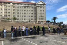 Dozens of Western Cape private sector GPs line up to receive their vaccine jabs
